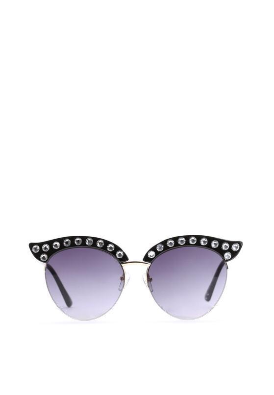 Czarne Okulary Bella