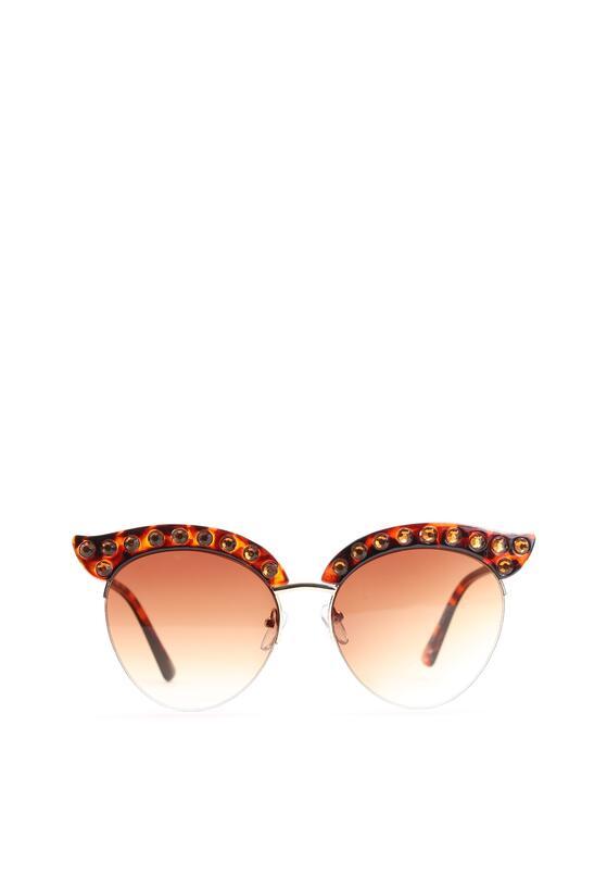 Brązowe Okulary Bella