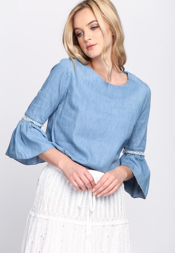 Niebieska Bluzka Forbearing