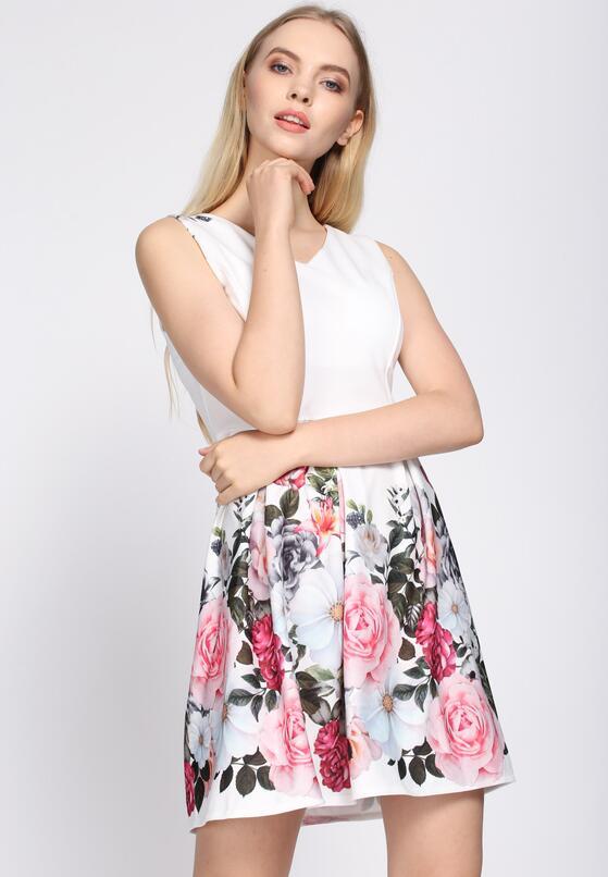 Biała Sukienka Expression