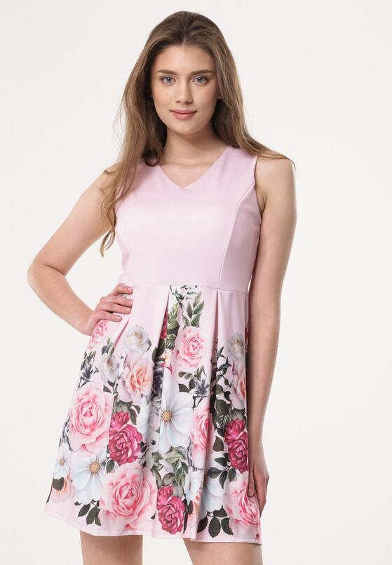 Różowa Sukienka Expression