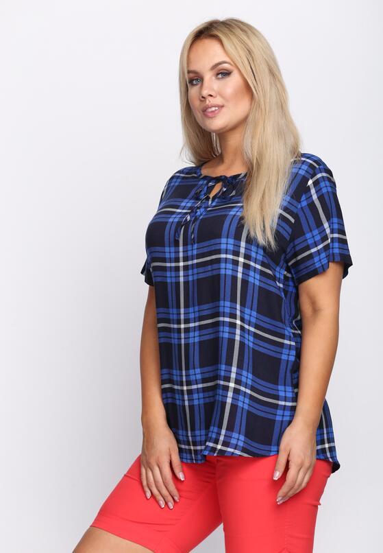 Niebieski T-shirt Trout