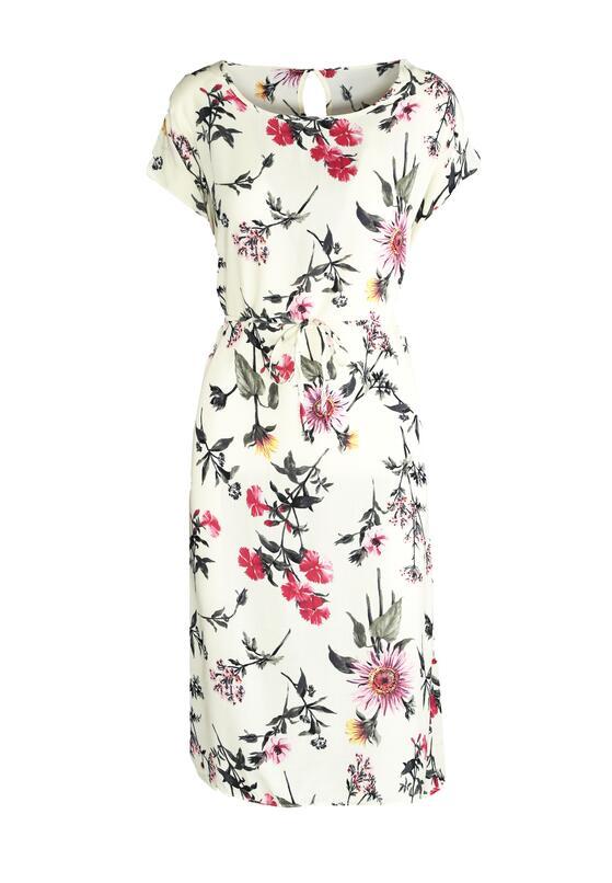 Kremowa Sukienka Flawless Look
