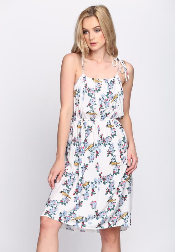 Biała Sukienka Stellar Garden