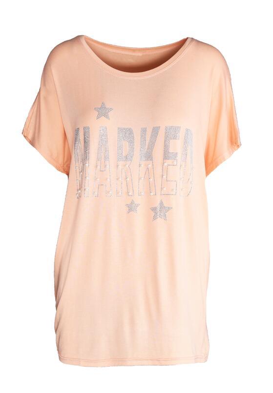 Łososiowy T-shirt Good Marked