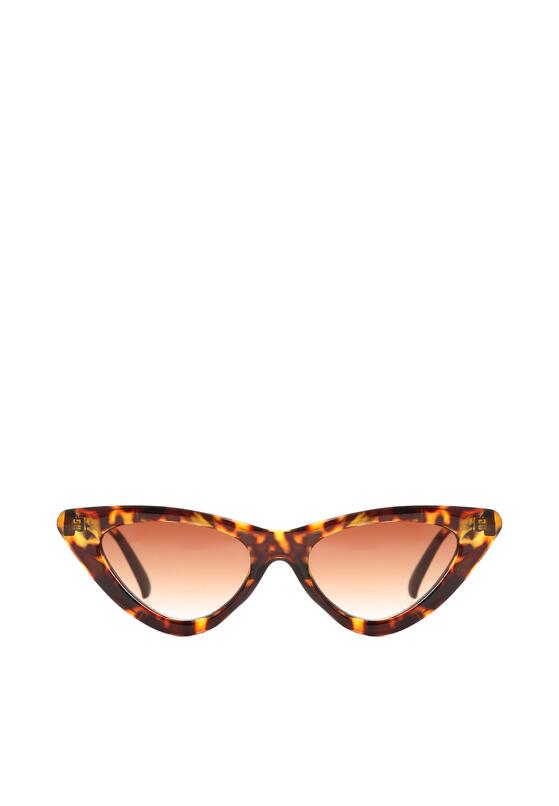 Brązowe Okulary Sand Walker