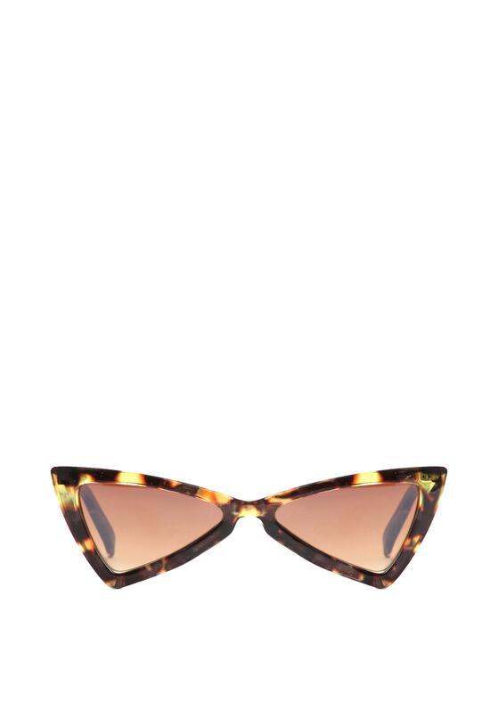 Brązowe Okulary Vanilla Bean