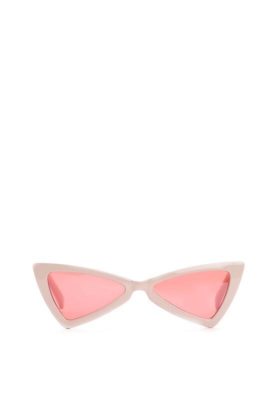 Czerwono-Różowe Okulary Vanilla Bean