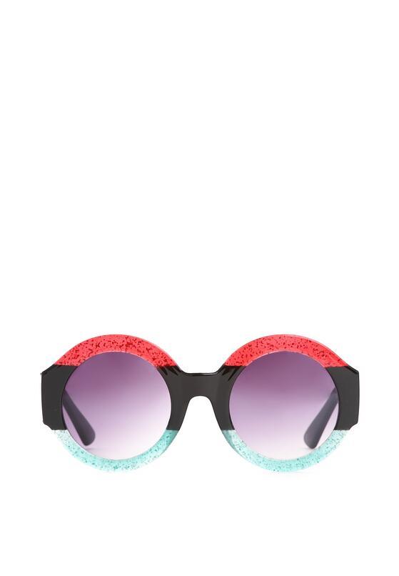 Czerwono-Zielone Okulary Purple Haze
