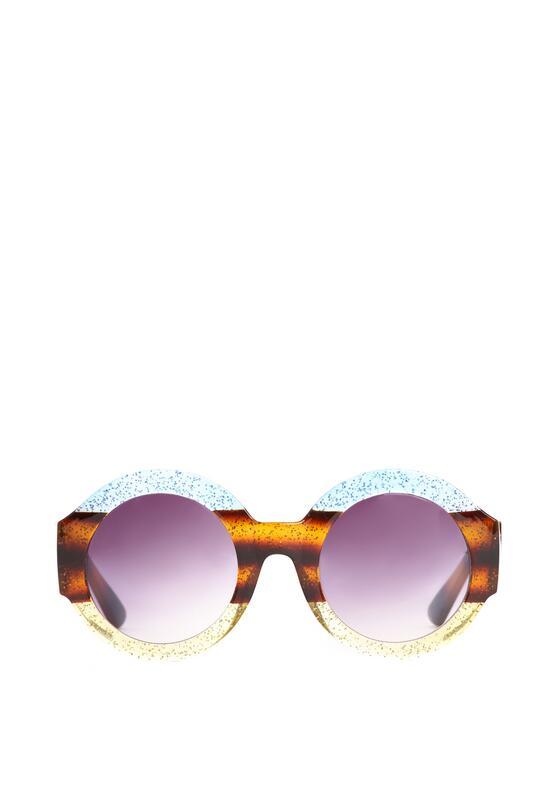 Niebiesko-Żółte Okulary Purple Haze