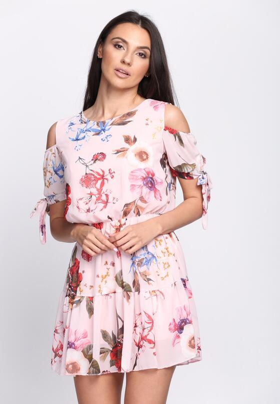 Różowa Sukienka Just Be Free