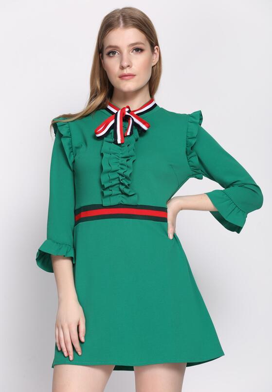 Zielona Sukienka One More Time