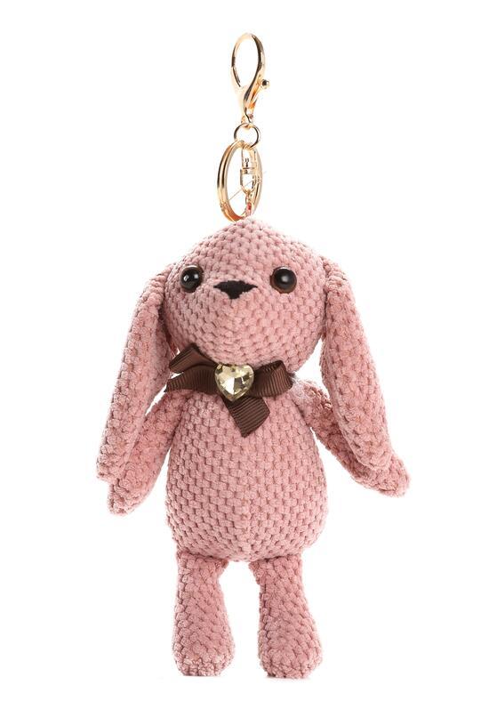 Różowy Brelok Bunny Rabbit