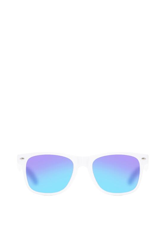 Biało-Fioletowe Okulary Lady Danger