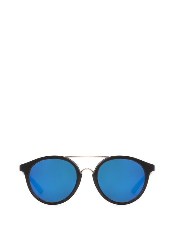Czarno-Niebieskie Okulary In the Morning