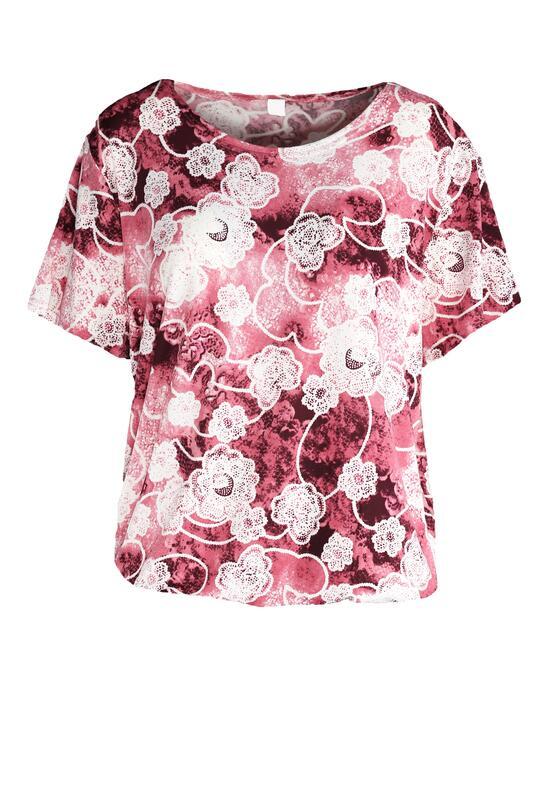 Różowy T-shirt Bloody Mary