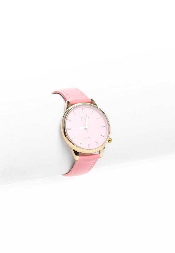 Różowy Zegarek Glamorous Girl