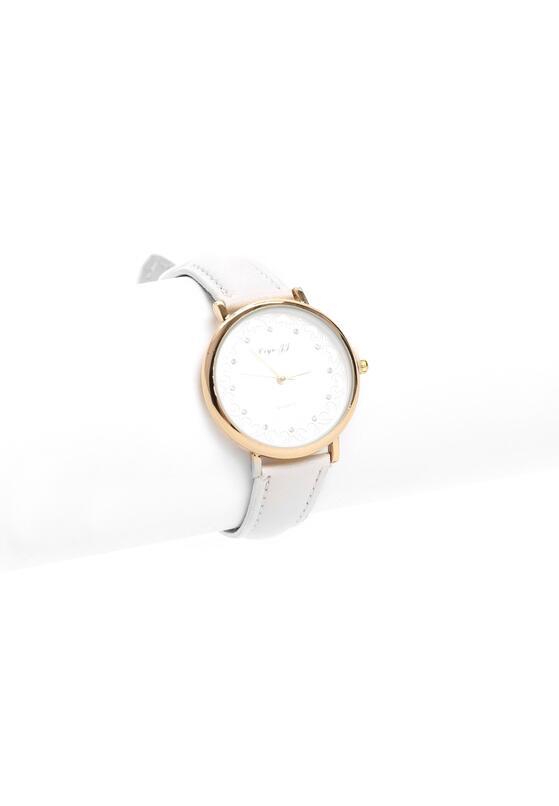 Biały Zegarek Loves Embrace