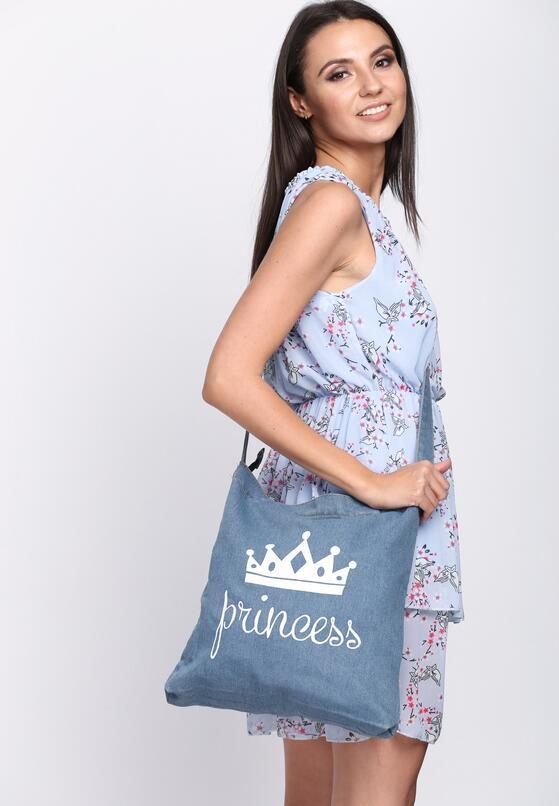 Jasnoniebieska Torebka Street Princess
