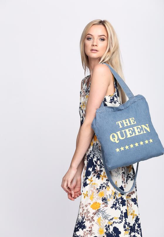 Niebieska Torebka Queen Of Blue