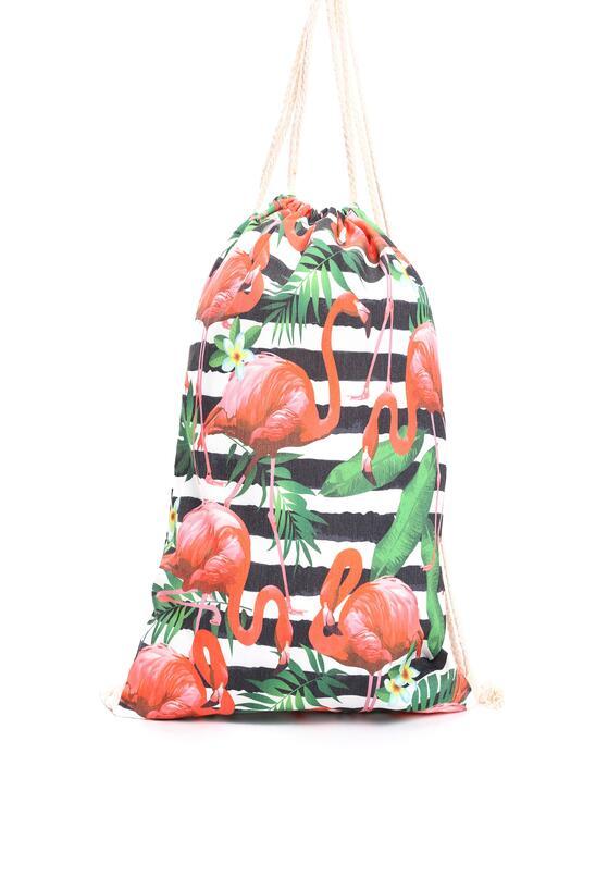 Biało-Pomarańczowy Plecak Sweet Jelly