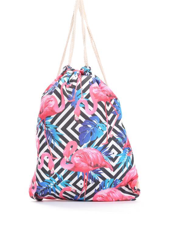 Biało-Różowy Plecak Sweet Jelly