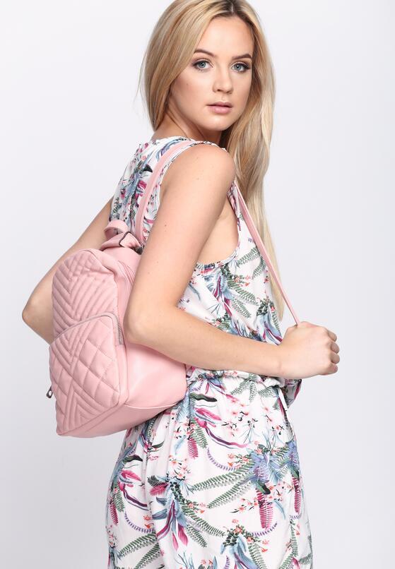 Różowy Plecak Rotate