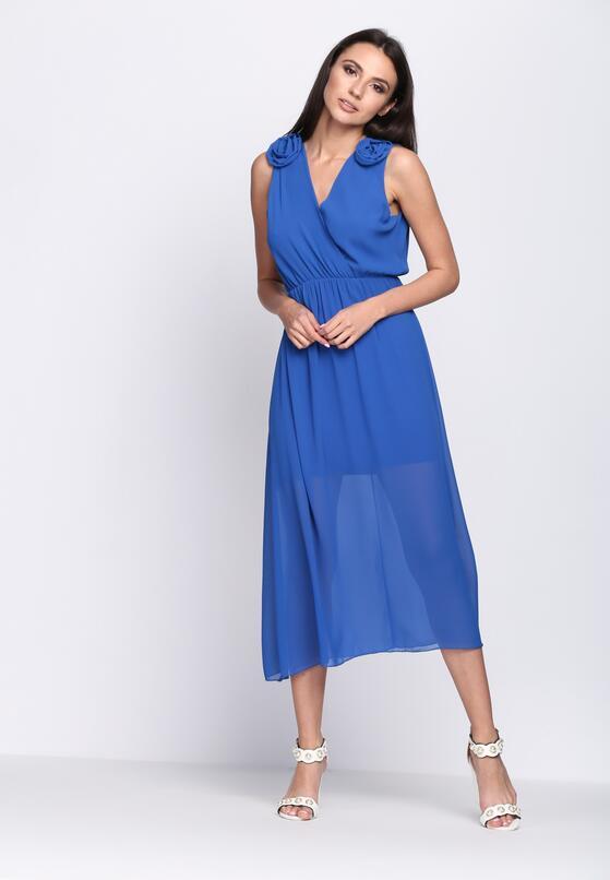 Kobaltowa Sukienka Supernatural