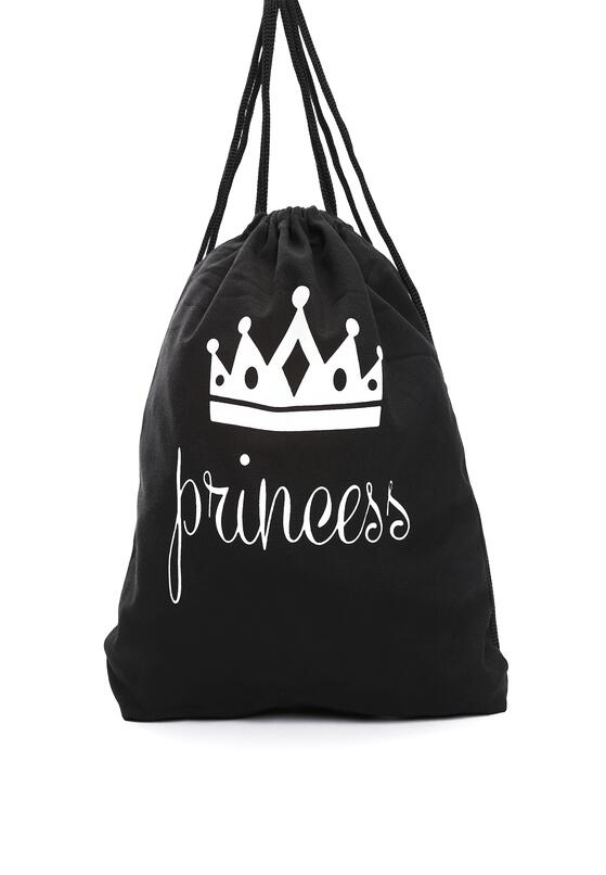 Czarny Plecak Princess