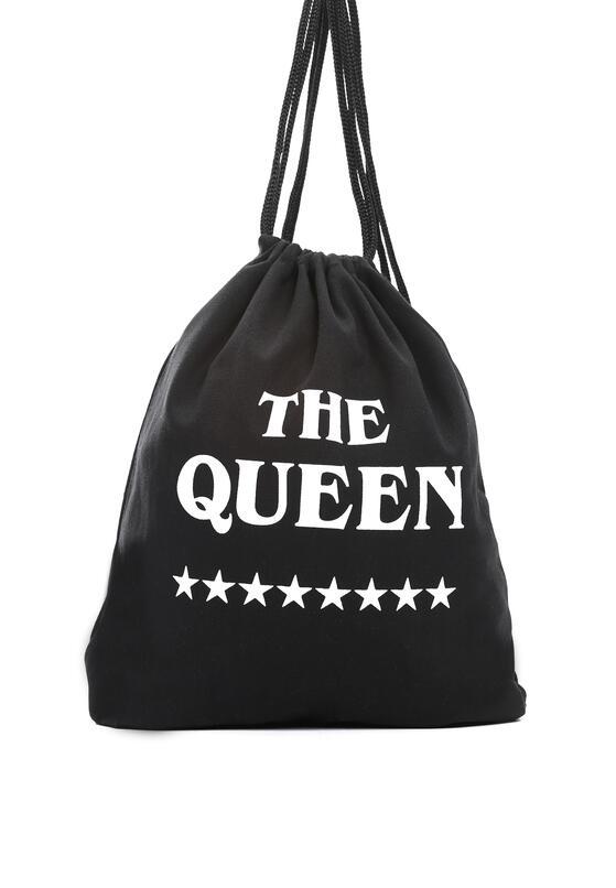 Czarny Plecak Be A Queen