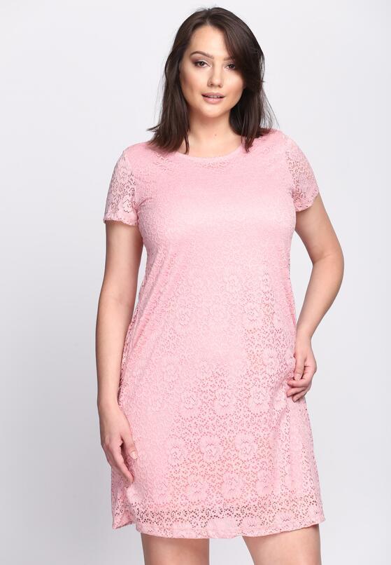 Różowa Sukienka Rowanberry