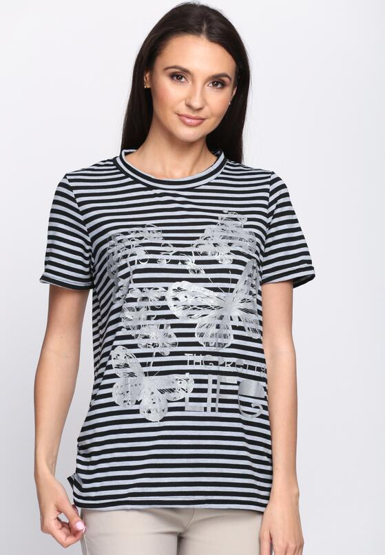Szary T-shirt Pearl Oyster
