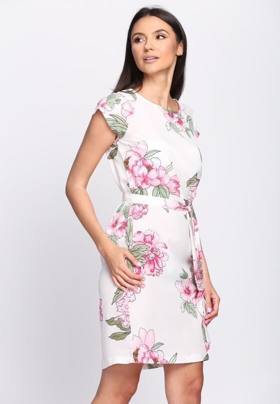 Biała Sukienka Elderflower