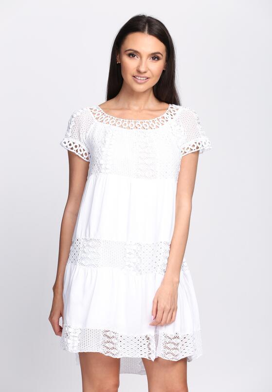 Biała Sukienka Hold On Tight