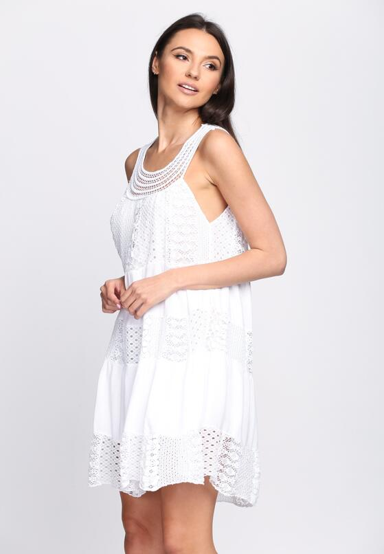 Biała Sukienka Dressin' Up