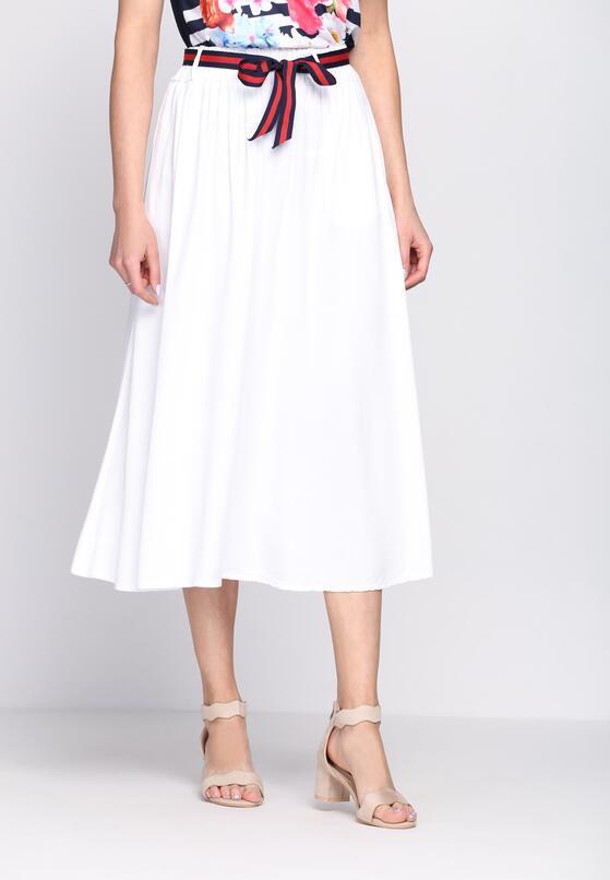 Biała Spódnica Chi Chi