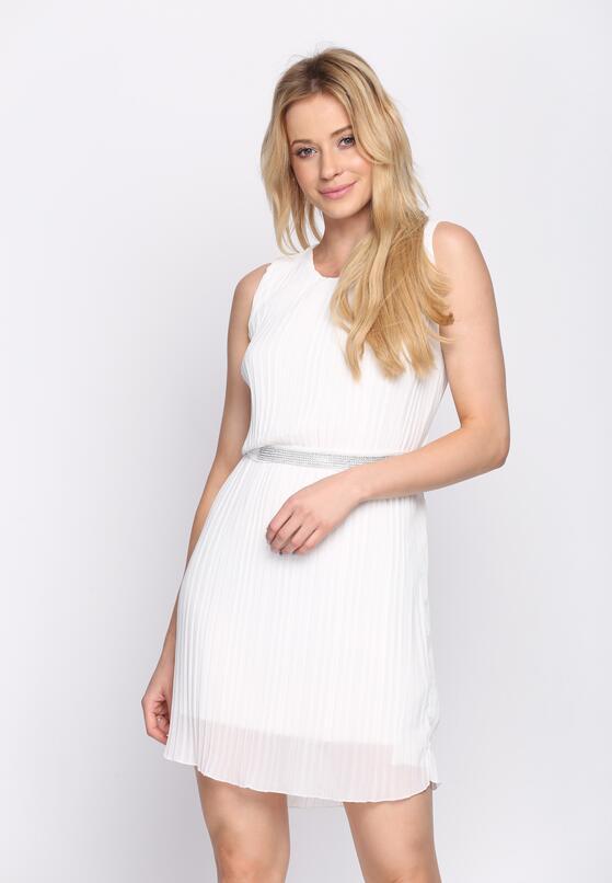 Biała Sukienka Winter Cherry