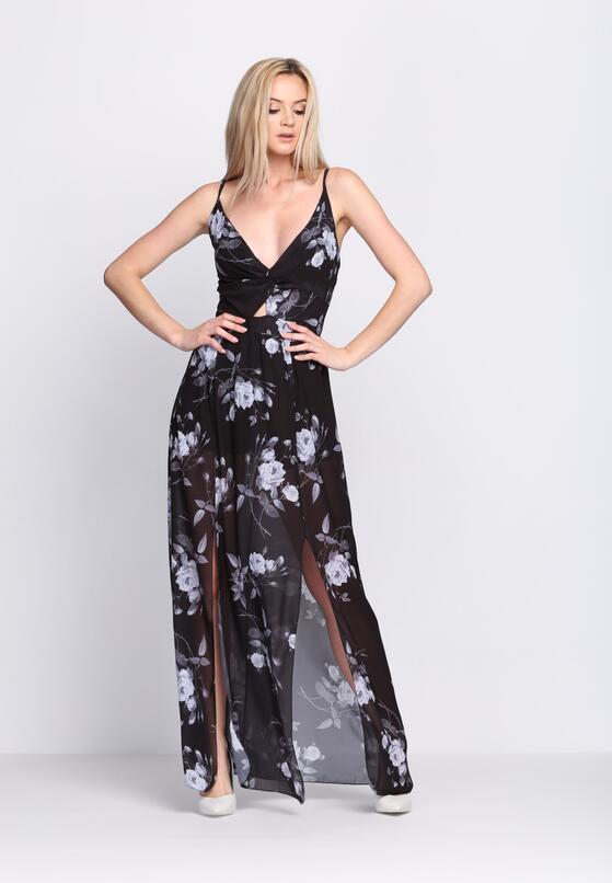 Czarna Sukienka Marble