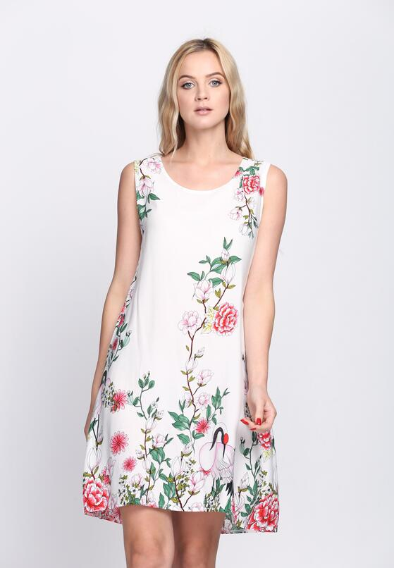 Biała Sukienka Sugar Plum