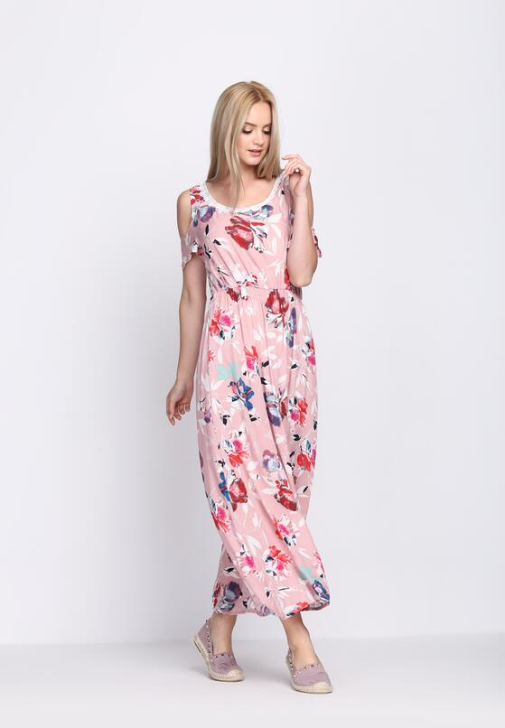 Różowa Sukienka Ultramarine