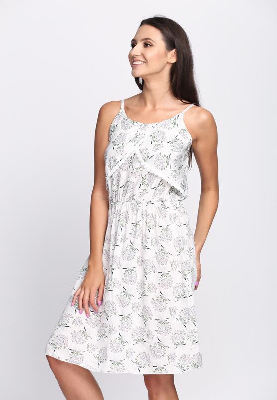 Biała Sukienka Imperial