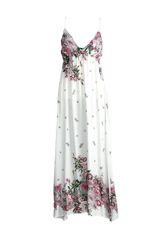 Biała Sukienka Iguana