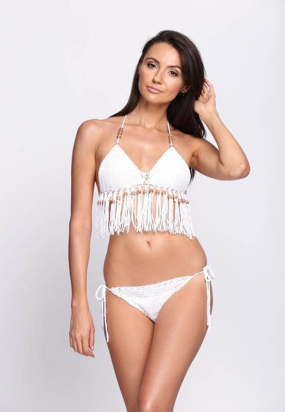 Białe Bikini Invisible Touch