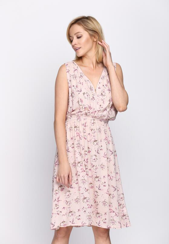 Różowa Sukienka Lash Out