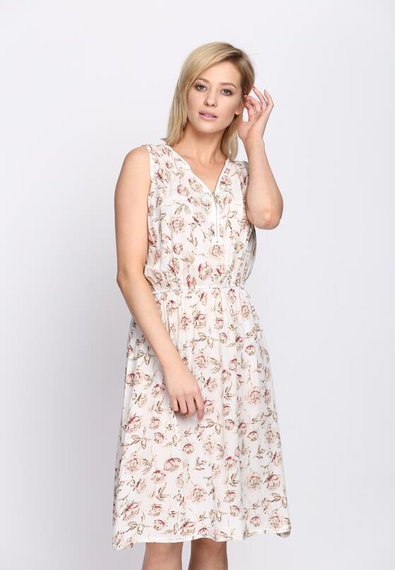 Biała Sukienka Lash Out