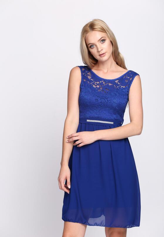 Kobaltowa Sukienka The Jam