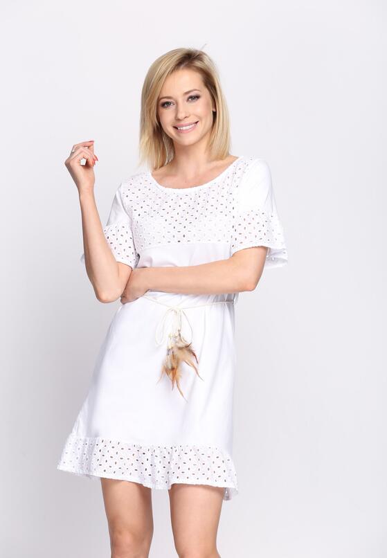 Biała Sukienka The Wheat