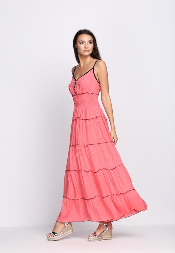 Różowa Sukienka Passing Time