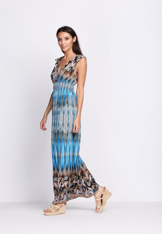 Niebieska Sukienka I Will Fly