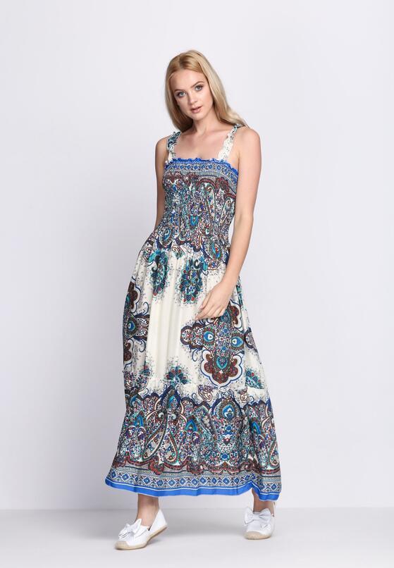 Niebieska Sukienka Rесklеss